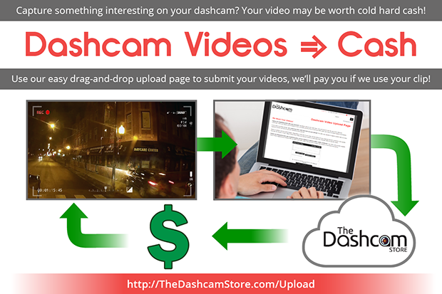 The Dashcam Store - Video Upload for Cash graphic