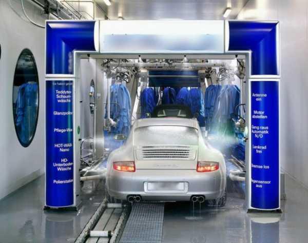 Автоматические мойки автомобиля